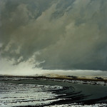 """Weather     197948"""" x 38""""   oil on canvas"""