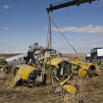 Removing the Aircraft From Nanton